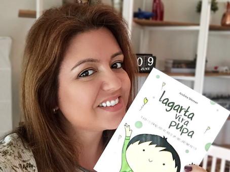 Lançamento: livro Lagarta Vira Pupa