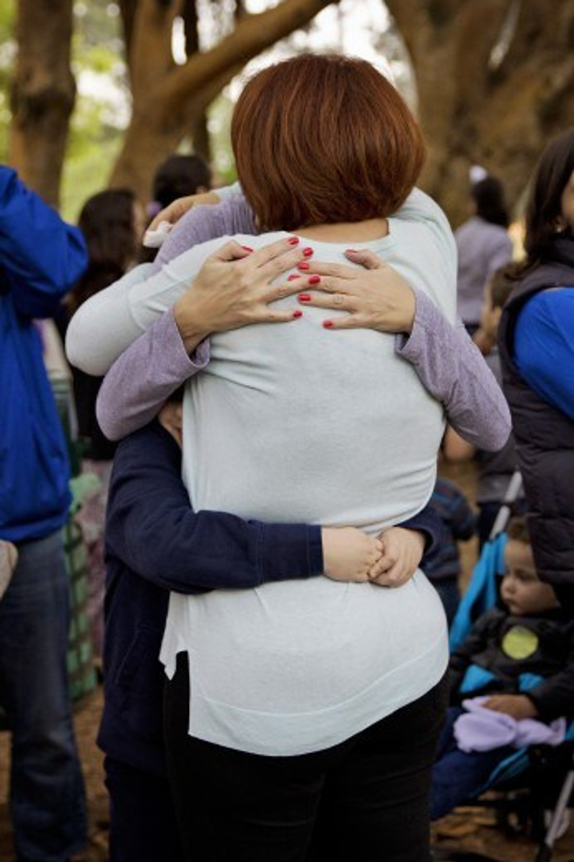 O melhor abraço triplo do mundo! (foto: Dunia Acauan)