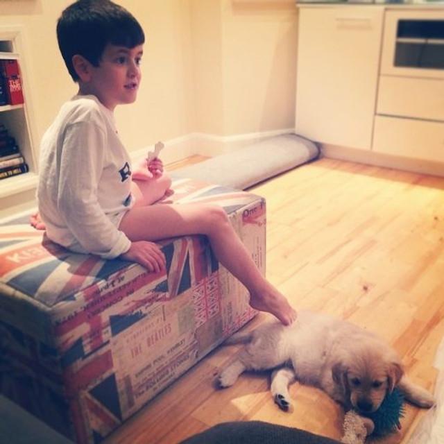 Theo e Lola (arquivo pessoal)