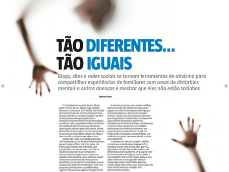 Tão diferentes, tão iguais (matéria do jornal Estado de Minas)