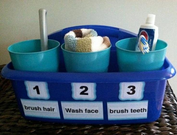 """""""pentear o cabelo, lavar o rosto, escovar os dentes"""". Fonte: http://bit.ly/1IibgyC"""