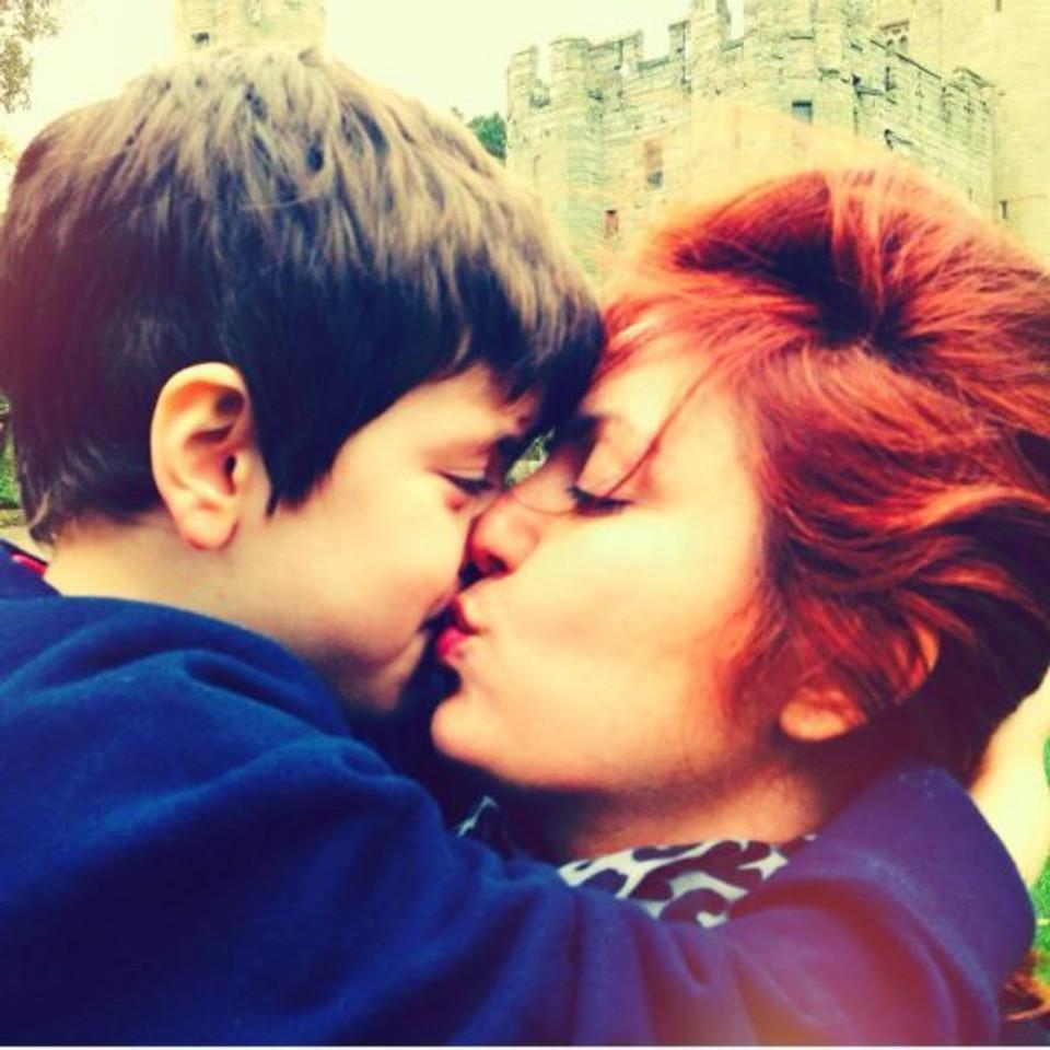 O melhor beijo do mundo (arquivo pessoal)