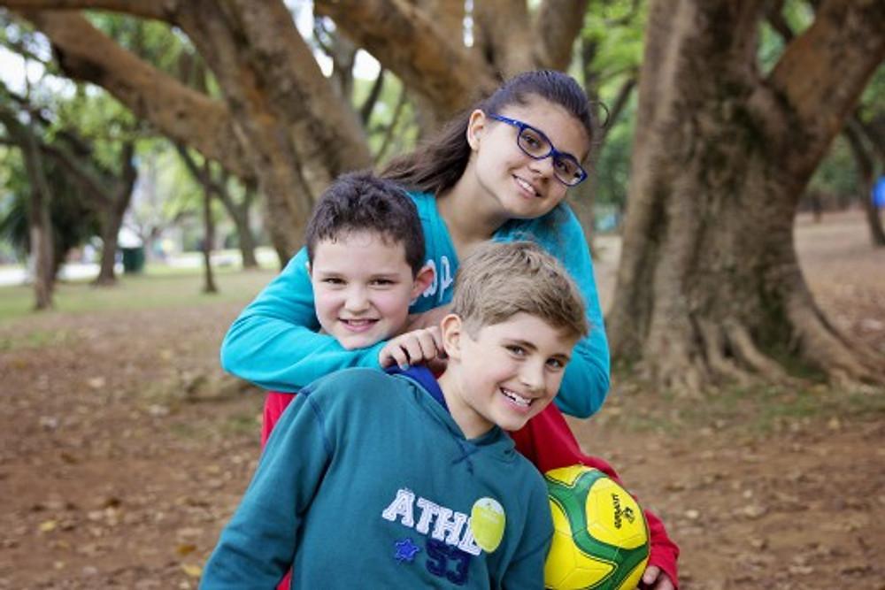 Crianças felizes! (foto: Dunia Acauan)