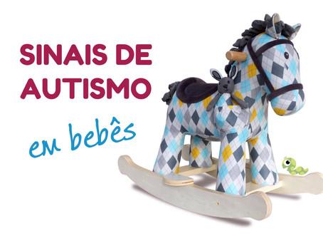 Sinais de autismo em bebês (vídeo)