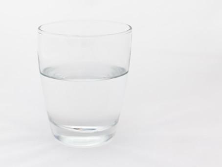 O copo meio cheio