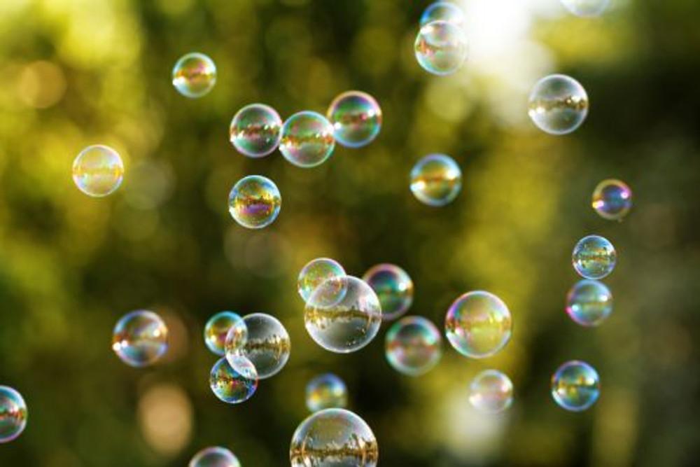 bolhas de sabão (imagem: Shutterstock)