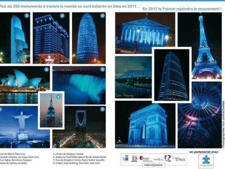 Fotos: tudo azul no mundo e no Brasil!