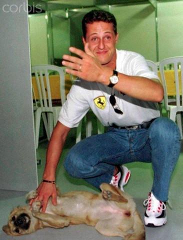 Schumacher e Floh em Interlagos