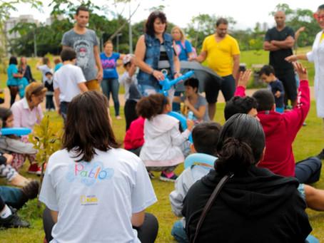 Pupanique SP abril de 2018: lugar de autista é em todo lugar