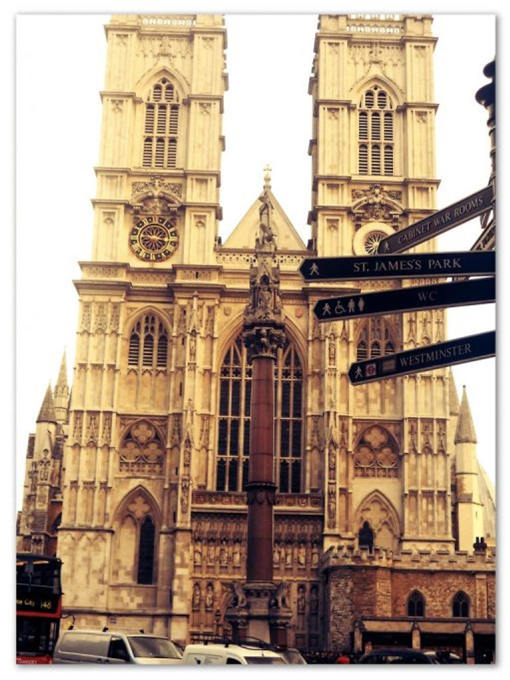 E um tesouro histórico: A Abadia de Westminster. (arquivo pessoal)