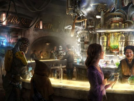 Galaxy's Edge Oga's Cantina Details Are Groundbreaking