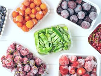Alimentos que conservan sus propiedades tras ser congelados