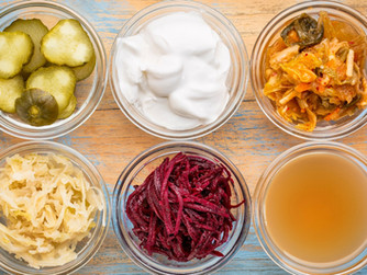 Alimentos ricos en probióticos