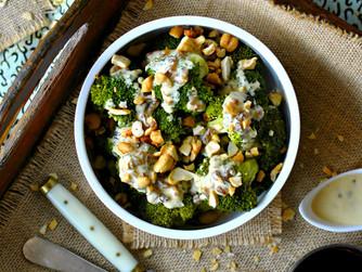 Brócoli con tahini