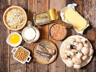 Alimentos ricos en Vitamina D para la cuarentena