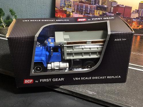 Blue/Gray 1/64 scale Mack® R Dump Truck