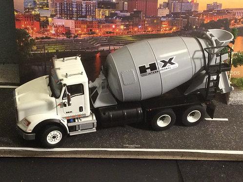 1:50 International HX615 Concrete Mixer BY DIECAST MASTERS