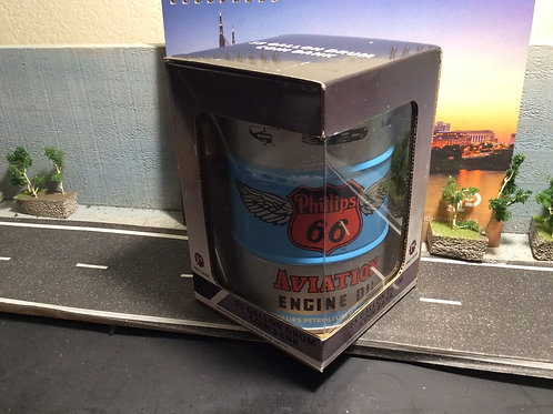 """FIRST GEAR 55 GALLON DRUM COIN BANK """"PHILLIPS OIL"""""""