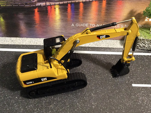 1:87 HO SERIES CATERPILLAR 320 D L EXCAVATOR