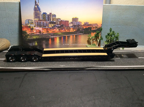 1:50 XL 120 Low Profile HDG Trailer w/2 Boosters - Black 91032