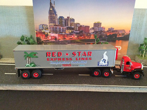 DCP by FIRST GEAR  Red Star Express  1:64 Scale