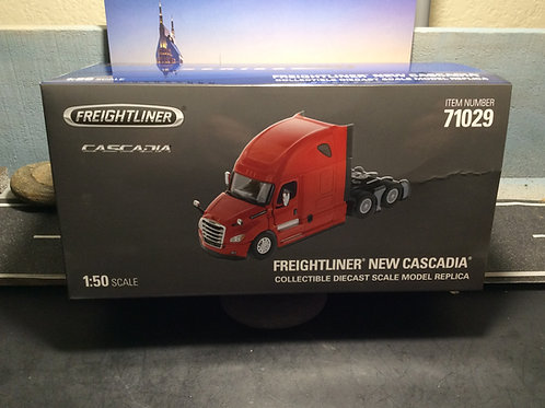DIECAST MASTERS 1:50 SCALE International HX520 Tandem Tractor - Cab Only - Red