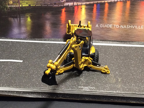1:87 HO SCALE CAT Caterpillar BACKHOE and FRONT END LOADER