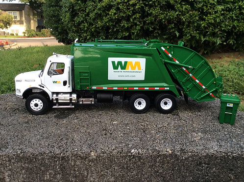 Waste Management 1/34 scale Freightliner® M2 with McNeilus® Rear Load Refuse Tru