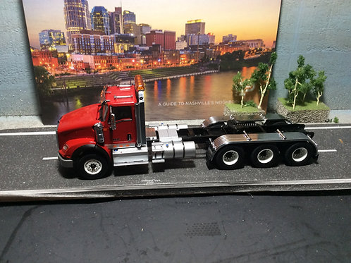 1:50 International HX620 Three Axle Tractor - Cab Only - Red  71008