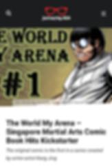 01 The World My Arena - Singapore Martia