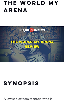 06 The World My Arena Manga REVIEW + Int