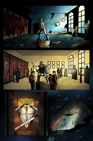 Dead of Knight #1 Page 1