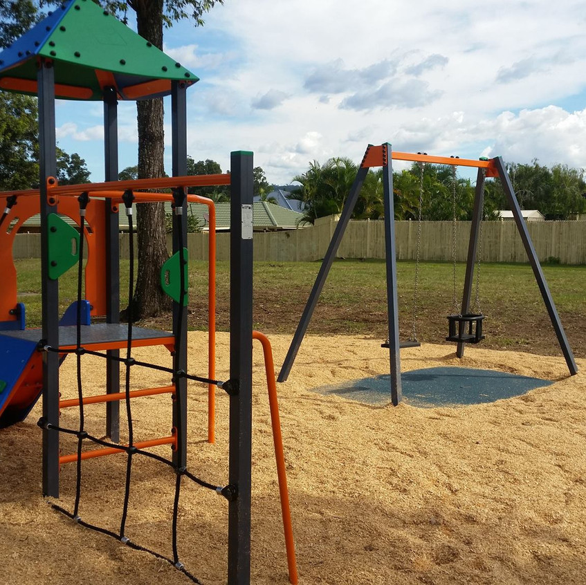 PlayPark System & Double Swing