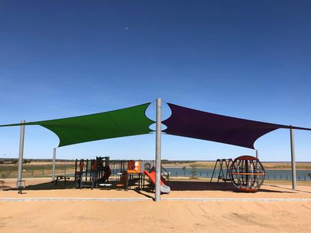 Shire of Flinders - The Lake Playground, Hughenden