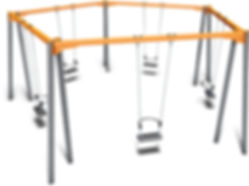 SW-009 - 5 Way Touch Swing
