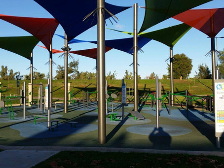 Tamworth Regional Council - Bicentennial Park - Fitness Area