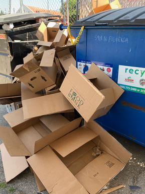 Food Pantry: Recycling