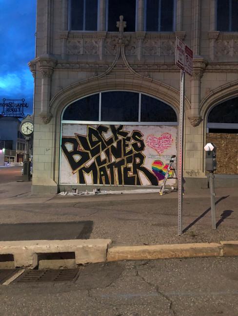 Black Lives Matter - Artist Unknown