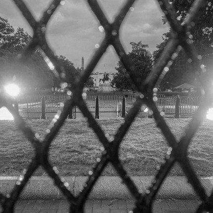 45's White House: a gated community