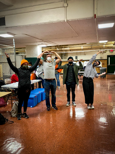 V-O-T-E: First-Time Poll Workers in Solidarity
