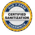 Free DOD 5220 22M  hard drive wiping