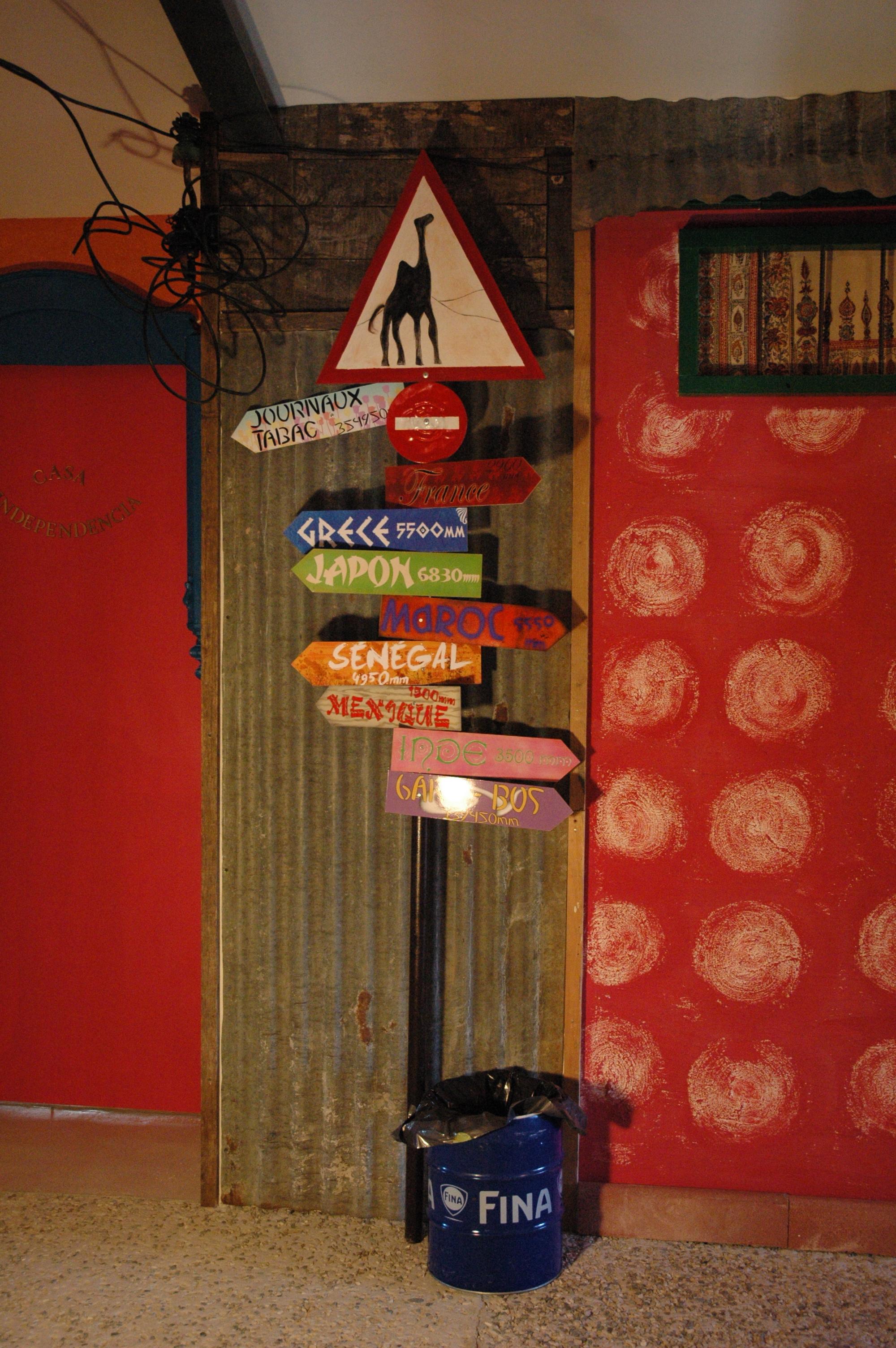 Panneaux direction chambres2