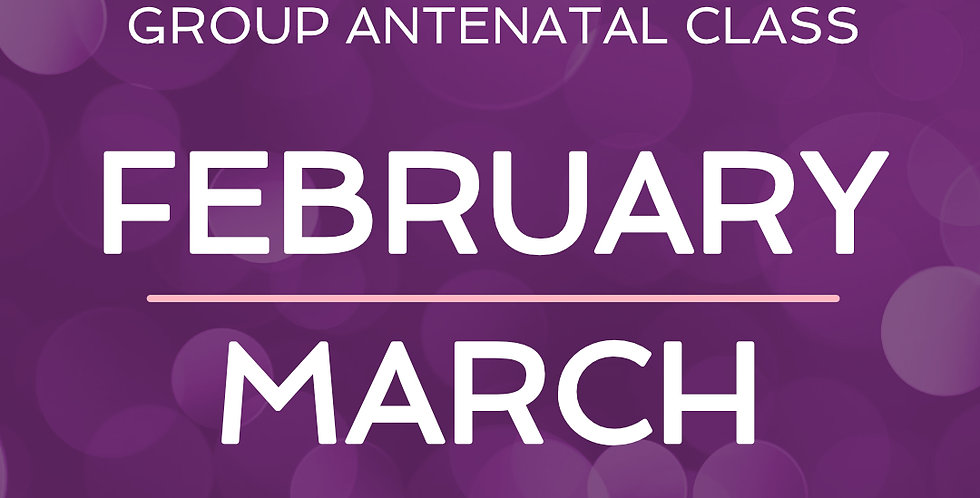 Group Antenatal Course - February/March