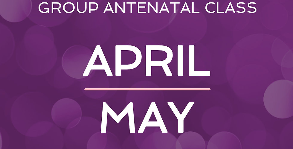 Group Antenatal Course - April/May