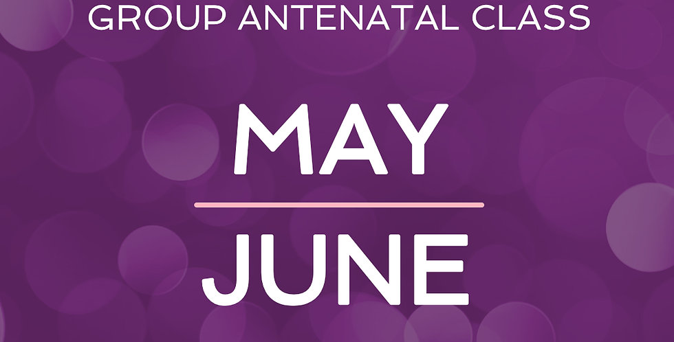 Group Antenatal Course - May/June