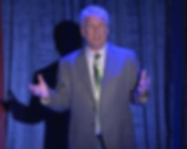 Marc Summers on stage during Everything In Its Place, The Life and Slimes of Marc Summers