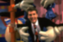Marc Summers on Double Dare set, featured in new documentary On Your Marc produced by Marc Summers, Mathew Klickstein, Joshua B. Yawn, Eric Cupps, Chloe Sullivan, Jon Niccum