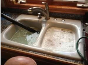 Drainmasterwa blocked sink