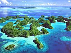 Utilizan la energía de las olas para reconstruir unas islas