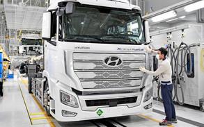 Hyundai presenta el primer camión, de gran tonelaje, de hidrógeno del mundo